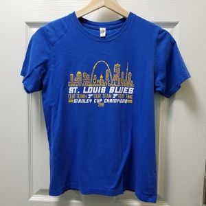 St. Louis Blues Stanley Cup Champions Hockey Tee
